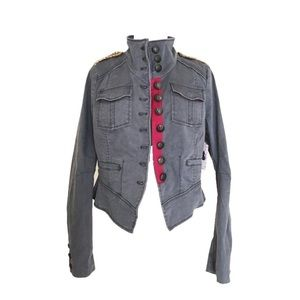 Free People Military officer Jacket